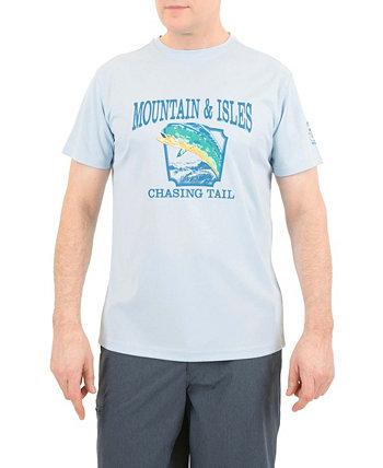 Мужская солнцезащитная рубашка Mountain And Isle Mountain And Isles