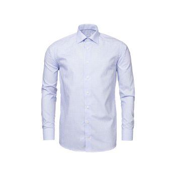 Рубашка в клетку из натурального эластичного материала Contemporary-Fit Eton