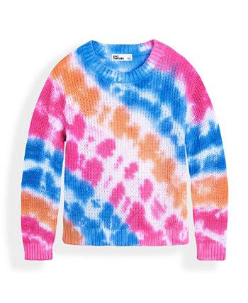 Toddler Girls Tie Dye Sweater Epic Threads