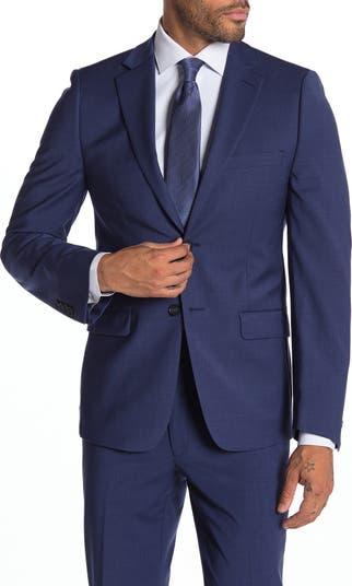 Milo Notch Collar Skinny Fit Suit Separate Jacket Calvin Klein