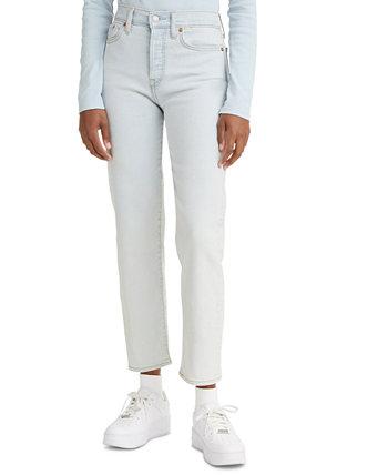 Женские укороченные джинсы прямого кроя на танкетке Levi's®