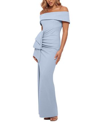 Платье с открытыми плечами XSCAPE