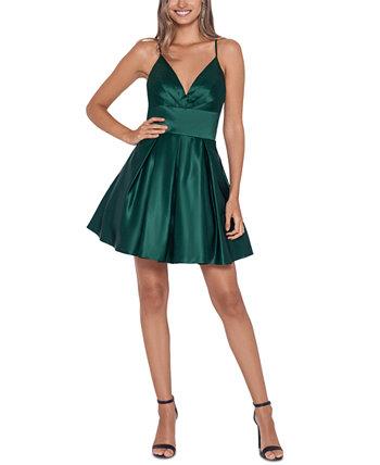 Юниорское платье с ремешками на спине Blondie Nites