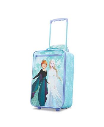 18-дюймовая ручная кладь софтсайд Disney Frozen American Tourister