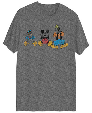 Мужская футболка Donald Duck Mickey Mouse & Goofy от Jem Hybrid