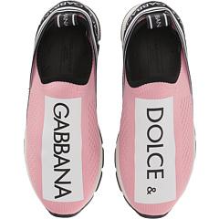 Джинсовые слипоны (Маленький ребенок / Большой ребенок) Dolce & Gabbana Kids