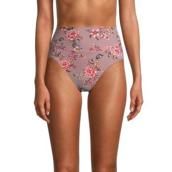 Плавки бикини с цветочным рисунком Paris Dream Skinny Dippers