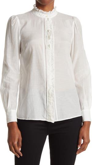 Блуза Liddy с оборками на воротнике REISS