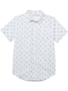 Рубашка на пуговицах с принтом (для малышей / маленьких детей / детей старшего возраста) Janie and Jack