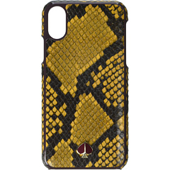 Чехол для телефона с тиснением под змею для iPhone XS Kate Spade New York