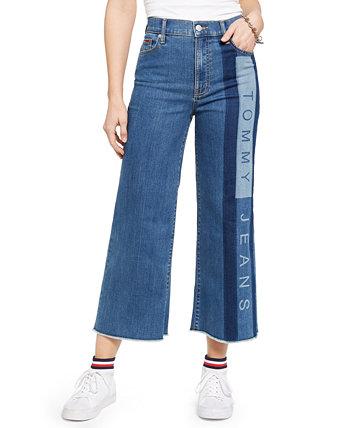 Укороченные широкие джинсы Tommy Jeans