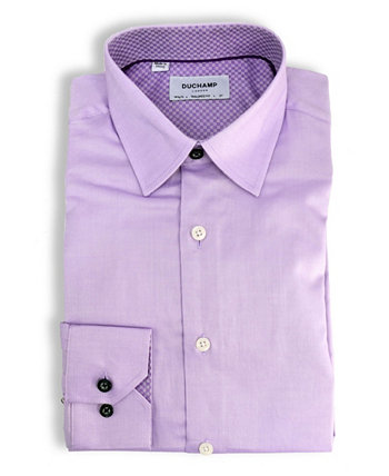 Твердая фактурная рубашка DUCHAMP