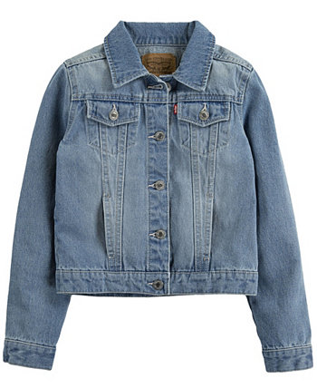 Джинсовая куртка-пиджак Big Girls Levi's®