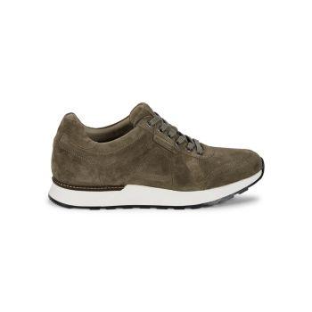 Suede Trainer Sneakers Allen Edmonds