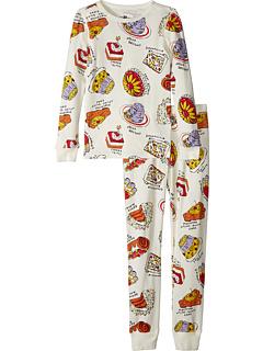 Набор для сна Crazy Cakes с длинным рукавом (для малышей / маленьких детей / больших детей) J.Crew
