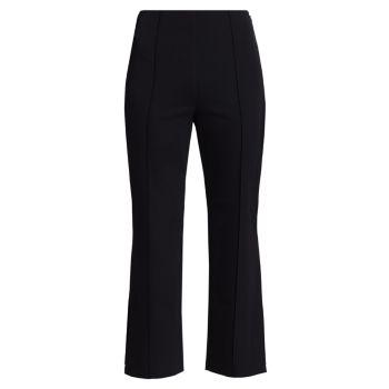 Укороченные расклешенные брюки Jonathan Simkhai