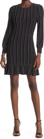Платье с длинными рукавами в полоску 19 Cooper