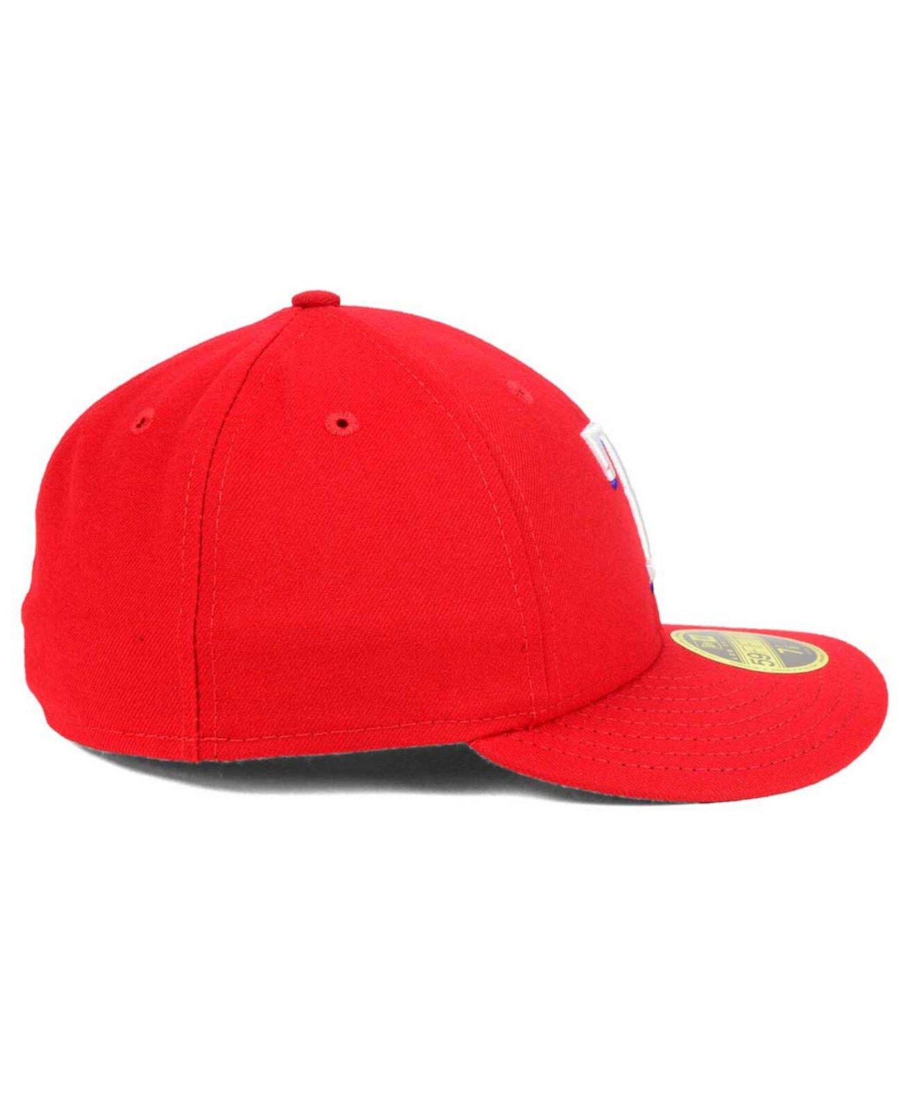 Texas Rangers Низкопрофильный AC Performance 59FIFTY Cap New Era