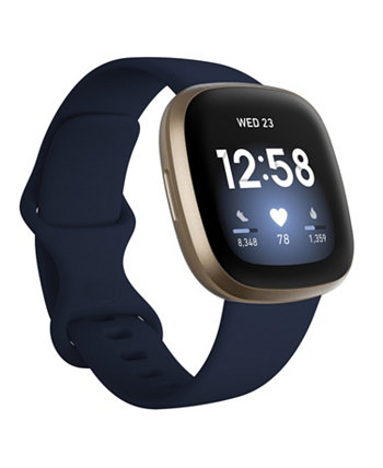 Смарт-часы Versa 3 Midnight Blue Strap, 39 мм Fitbit
