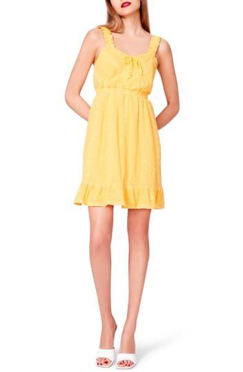 Вязаное платье на шнуровке с прорезями Betsey Johnson