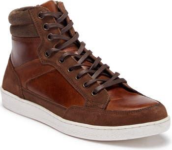 Seiler High-Top Leather Sneaker Crevo