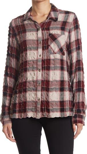 Рубашка на пуговицах в клетку с накладным карманом Como Vintage