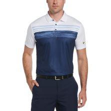 Мужская футболка-поло для гольфа с принтом в полоску и текстурированной полоской Jack Nicklaus StayDri Jack Nicklaus