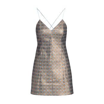 Tayla Printed Mini Dress Alice + Olivia