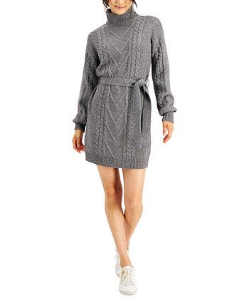 Платье-свитер с поясом для юниоров Hooked Up by IOT