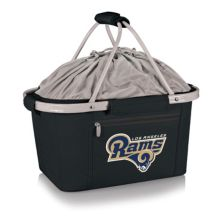 Picnic Time Los Angeles Rams Metro Insulated Picnic Basket Picnic Time