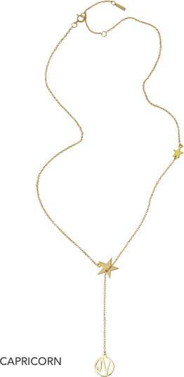 Ожерелье с подвеской-лабиринтом из стерлингового серебра с покрытием из желтого золота 585 пробы ADORNIA