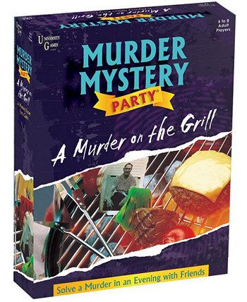 Тайна убийства - убийство на гриле University Games
