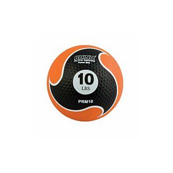 Champion Sports PRM10 10 lbs Rhino Elite Medicine Ball, Orange Champion Sports