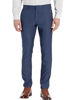 Очень облегающие эластичные классические брюки в клетку Perry Ellis Portfolio
