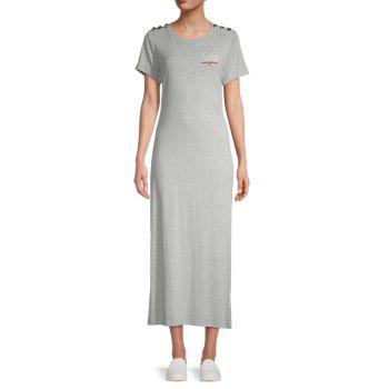 Logo Maxi T-Shirt Dress Karl Lagerfeld Paris