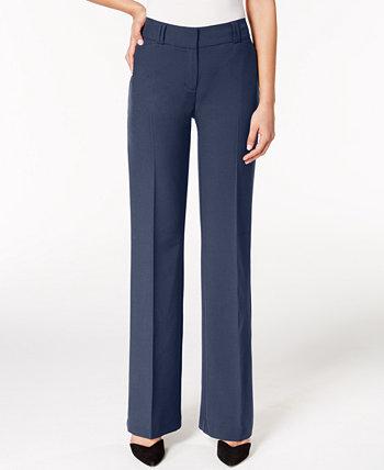 Соблазнительные брюки Bootcut, обычные, короткие, для Macy's Alfani