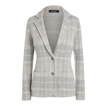 Plaid Wool-Blend Blazer Ralph Lauren