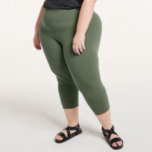 Plus Size FLX Affirmation High-Waisted Capri Leggings FLX