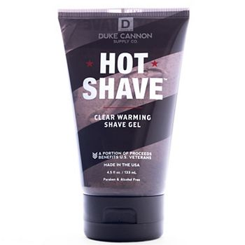 Duke Cannon Supply Co. Hot Shave clear Warming Shave Gel Duke Cannon Supply Co.