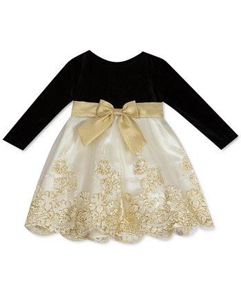 Вышитое платье для маленьких девочек Rare Editions