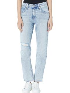 Прямой лоскут с высокой посадкой в цвете Two Hearts Hudson Jeans