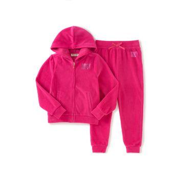 Little Girl's 2-Piece Hoodie & Pants Set Juicy Couture