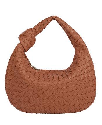 Маленькая женская сумка-хобо Drew Melie Bianco