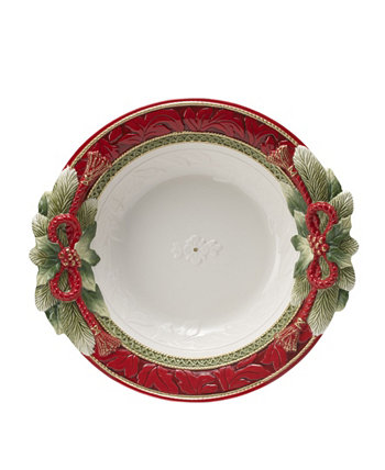 Дом для отпуска, Большая сервировочная тарелка, 16 дюймов Fitz and Floyd