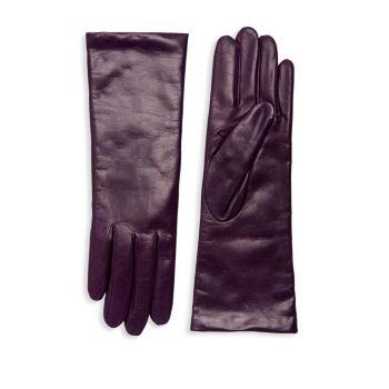 Классические кожаные перчатки Portolano