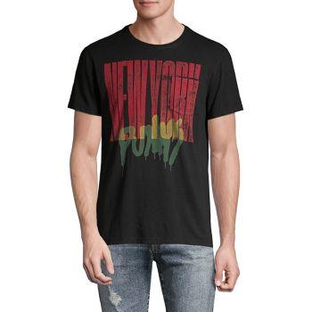 Футболка стандартного кроя New York Punk с карманами John Varvatos