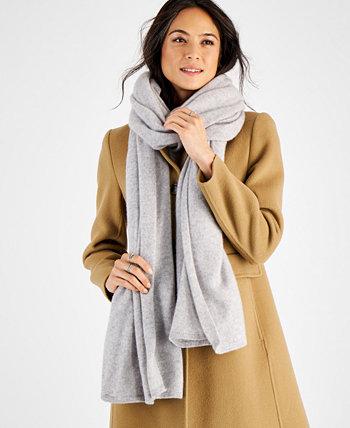 Кашемировый шарф большого размера, созданный для Macy's Charter Club