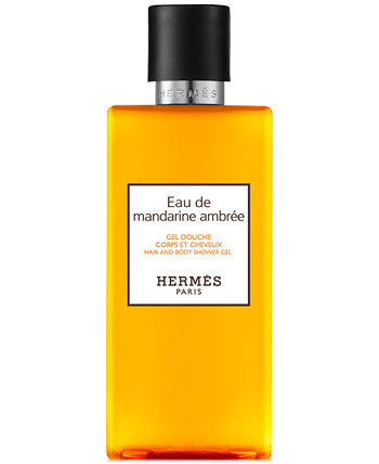 Eau de Mandarine Ambrée Гель для душа и волос, 6,7 унций. HERMÈS