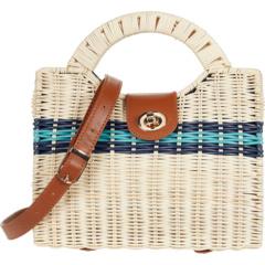 Плетеная сумка через плечо с вырезом и ручкой Nanette Lepore