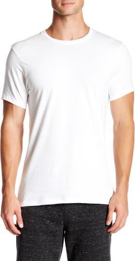 Хлопковая футболка с круглым вырезом - 3 шт. В упаковке Calvin Klein